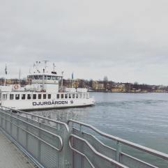 Ferry from Slussen to Djurgärden